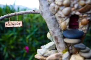 Fairy cottage house fae faery faeries windspinner sail